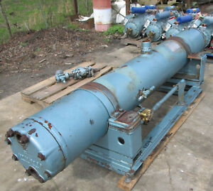 Carrier Chiller Barrel W Exp Valve 09rh054 269 Used In Working Condition