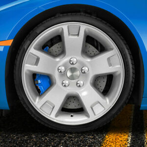 17 Inch Factory Replica Wheel For 2002 2005 Ford Explorer Painted Silver