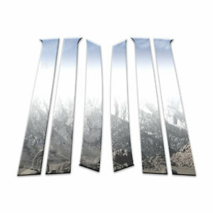 Auto Reflections Pillar Post Covers Fit For 2009 2011 Chevy Aveo Hatchback 6p