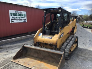 2012 Caterpillar 259b3 Compact Track Skid Steer Loader 2spd Clean Only 2500hrs