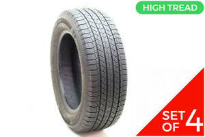 Set Of 4 Used 245 60r18 Michelin Latitude Tour Hp 104h 9 32