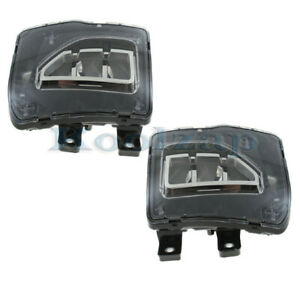 16 19 Chevy Silverado 1500 Pickup Truck Front Driving Fog Light Lamp Set Pair