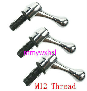 New Bridgeport Part Head Milling Machine Table Lock Bolt Handle M12 Thread 3pcs
