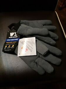 Large Men s Cold Weather Wearpower Jersey Work Gloves Thinsulate Wells Lamont