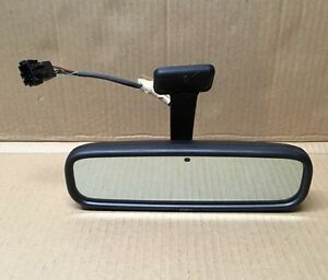 Saab 9 5 Rear View Mirror Interior Rearview Auto Dimming 400127049 Oem