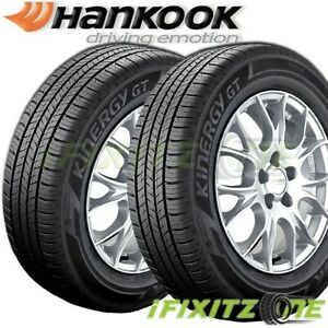 2 Hankook Kinergy Gt H436 225 45r17 91w M s All Season Grand Touring A s Tire