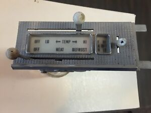 1958 Ford Car Heater Controls With Face Plate