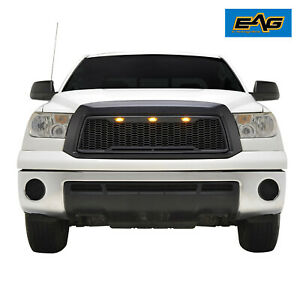 Eag Fit 10 13 Toyota Tundra Grille Black Replacement W led Upper Abs