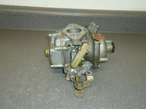 Stromberg Cd Zenith British Made 1 barrel Carburetor Carb Core 3417