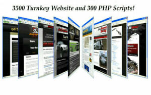 3500 Turnkey Websites 300 Php Scripts Resell Rights