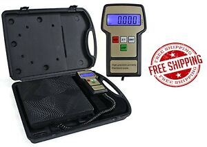 Fjc Inc 2850 Heavy Duty Diecast Aluminum Refrigerant Scale New Free Shipping
