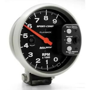 Autometer Auto Meter Sport comp Playback Tachometers 3966 Free Shipping