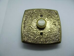 Vintage Nutone Savoy Lite Lighted Electric Push Button Door Bell