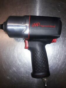 Ingersoll Rand 2135qxpa 1 2 Quiet Air Impact Wrench With Cover