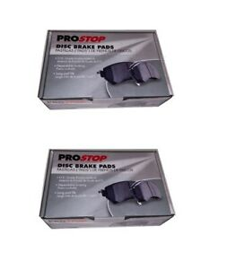 Prostop Front And Rear Ceramic Brake Pads Kit Fits Nissan Rogue 2014 2019 2 Row