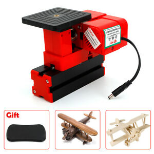 24w Mini Mental Lathe Sawing Jig saw Machine Model Make Woodworking Diy Set New