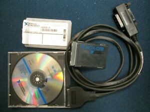 National Instruments Pcmcia gpib Card With Cable Software Tested 182361d 01