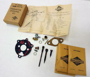 Briggs And Stratton Small Engine Model B K Z Zz Carburetor Kit 291692 Nos