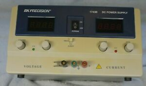 Bk Precision 1743b 0 35v 6a Dc Power Supply In Great Used Condition