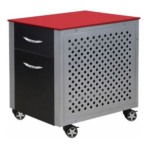 Pitstop Furniture Fc230r File Cabinet red