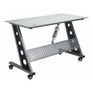 Pitstop Furniture Ind1200c Compact Desk clear