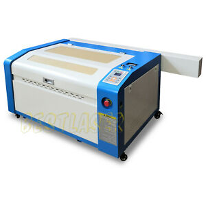 Usb Ruida 60w Laser Engraving And Cutting Machine With Motorized Table 16 x24