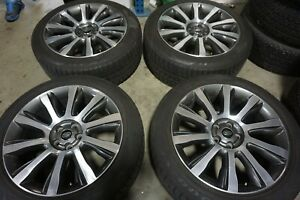 21 Land Rover Range Rover Factory Oem Gray Wheels Rims Tires Discovery 72246a