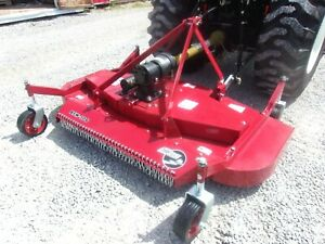New Tar River Bfm 106 Finish Mower 6 Ft 3 Pt free 1000 Mile Delivery From Ky