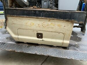 67 72 1967 1972 Ford Truck Bed Utility Tool Box With Latch Cutout Oem