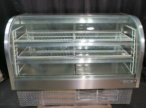 Beverage Air Curved Glass Refrigerated Deli Display Case 61