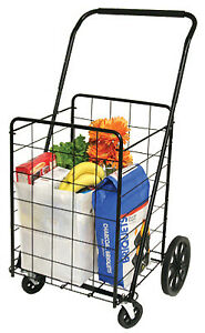 Deluxe Swiveler Shopping Cart 4 wheel