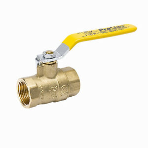 Full Port Ball Valve Lead Free Forged Brass 2 in