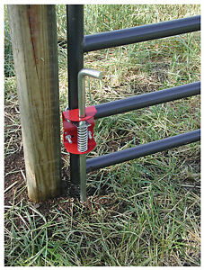 Livestock Gate Anchor Round Tube 1 75 To 2 in