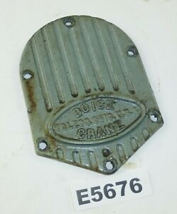Boice Crane Oscillating rotary Spindle Drum Sander Parts Gearbox Cover