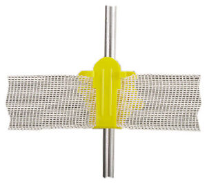 Electric Fence Insulator Round Post Western Style Yellow