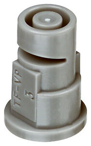 Boom Sprayer Replacement Nozzle Tips 3 Gray Flood 4 pk
