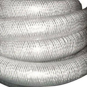 1 4 inch I d X 0 438 inch O d X 100 ft Clear Braided Reinforced Pvc Hose