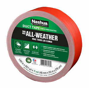 Hvac Duct Tape Red 1 89 in X 60 yds