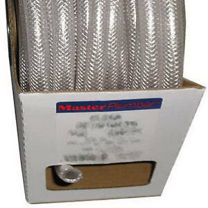 3 8 inch I d X 0 594 inch O d X 100 ft Clear Braided Reinforced Pvc Hose