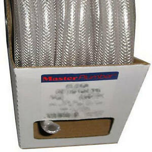 1 2 inch I d X 0 750 inch O d X 100 ft Clear Braided Reinforced Pvc Hose