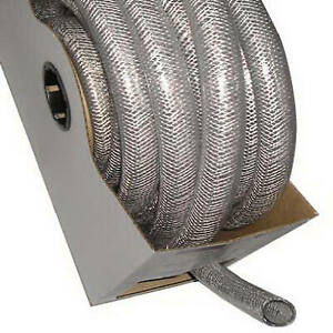 1 inch I d X 1 312 inch O d X 50 ft Clear Braided Reinforced Pvc Hose