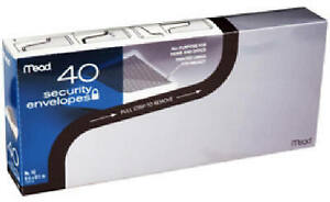 40 count 10 Security Envelopes Pack Of 24