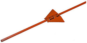Set eze Electric Fence Post Steel 312 X 48 in