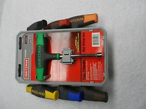 Craftsman Metric Mm T handle Nut Driver Set Made In Usa 7 Pcs Part 34547