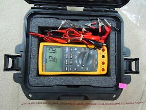 Fluke 789 Processmeter Kit With Lots Of Accessories Free Storage Case 15660