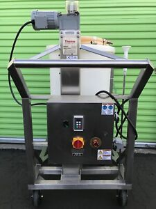 Thermo Hyclone 200l Mixer Stainless Steel Sv50182 01 With 4 Bioprocess Bags