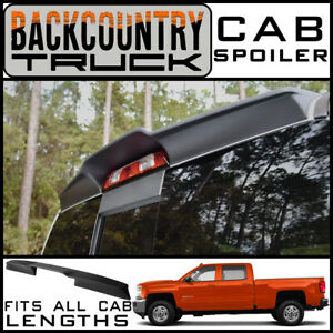 Backcountrytruck Matte Black Truck Cab Spoiler 2014 2018 Chevy Siverado