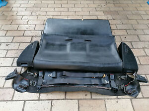 Rear Leather Seats Complete Honda Crx Jdm Edm Ef8 Ee8 Ed9 Si Hf Dx 88 91 rare