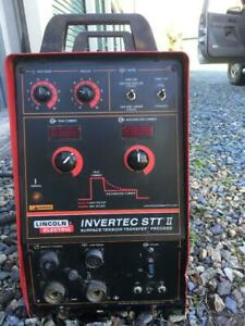 Lincoln Invertec Stt Ii Multi process Welder