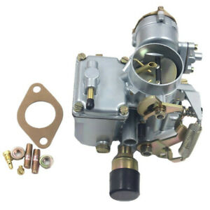 New Carburetor For Vw Volkswagen 34 Pict 3 12v Electric Choke 1600cc 113129031k